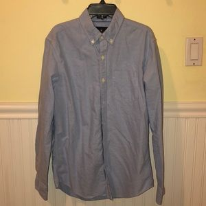 AEO Classic fit blue Oxford shirt size S